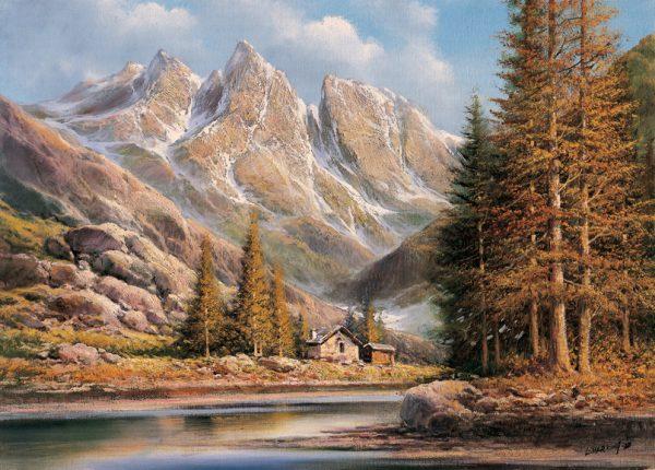 SO-74326 - Casolare tra le montagne - L. Harding