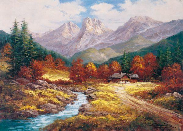 SO-74394 - Ruscello in autunno - L. Harding