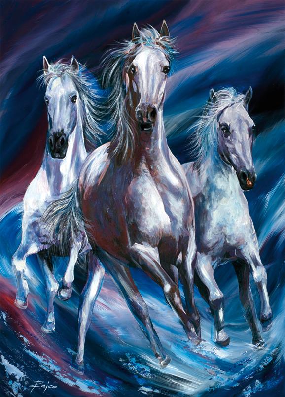 SO-74408 - Cavalli al galoppo - Rajco
