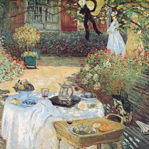 SO-7684 - Colazione in giardino - C. Monet