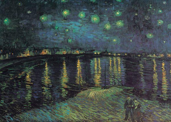 SO-7842 - Notte stellata sul Rodano, V. Van Gogh